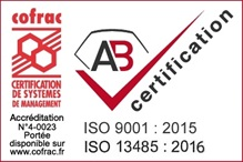 Certification ISO par AB certifications